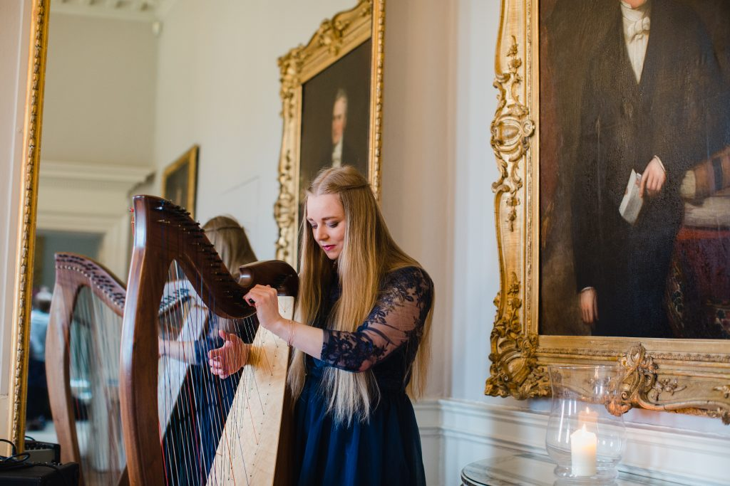 Wedding Harpist at Norwood Park, Nottingham