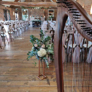 Swancar Farm Wedding Aisle
